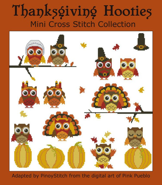Hooties Thanksgiving Mini Collection