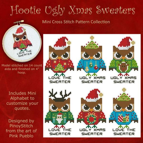 Hooties Ugly Christmas Sweaters