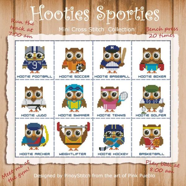 Hooties Sporties Mini Collection