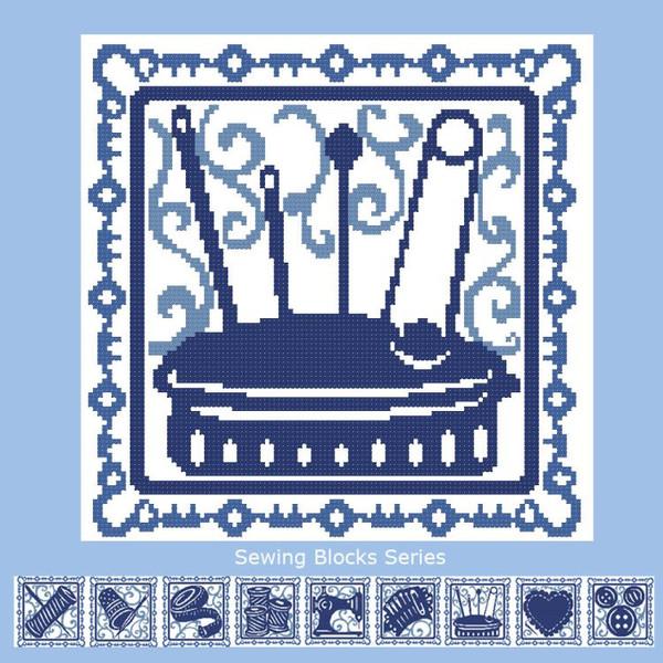 Sewing Blocks: Pin Cushion