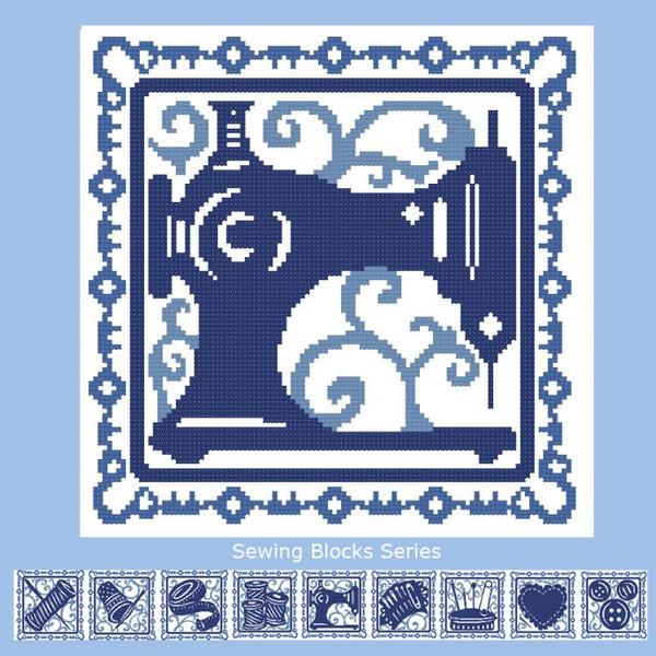 Sewing Blocks: Sewing Machine