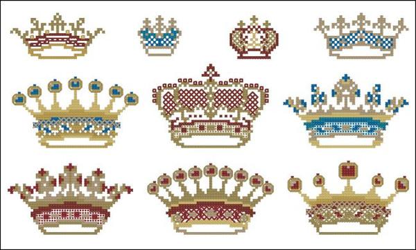 Victorian Crown Motifs