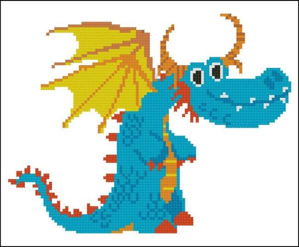 Happy Dragon Turquoise