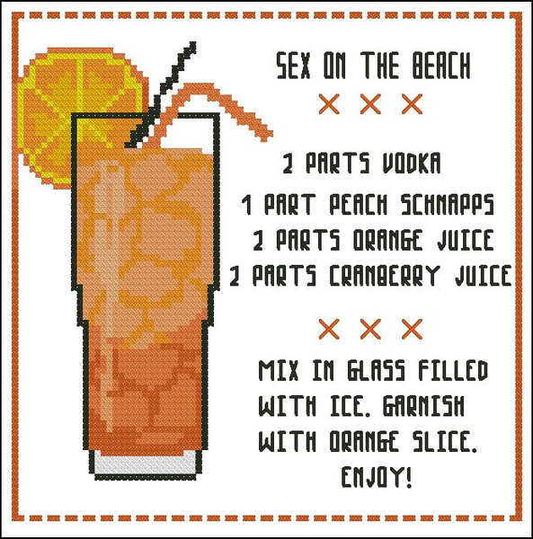 Cocktail: Sex on the Beach