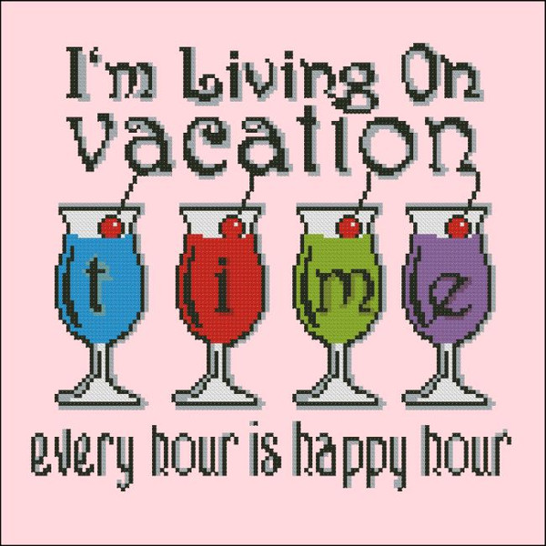 I'm Living on Vacation Time