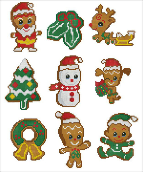 Gingerbread Cookies Christmas