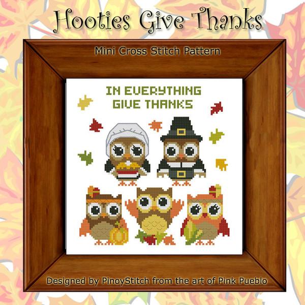 Hooties  In Everything Give Thanks