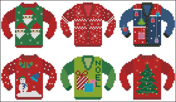 Ugly Christmas Sweater Minis 2