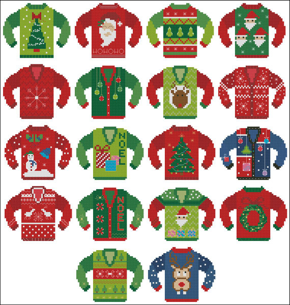 Ugly Christmas Sweater Ultimate Collection