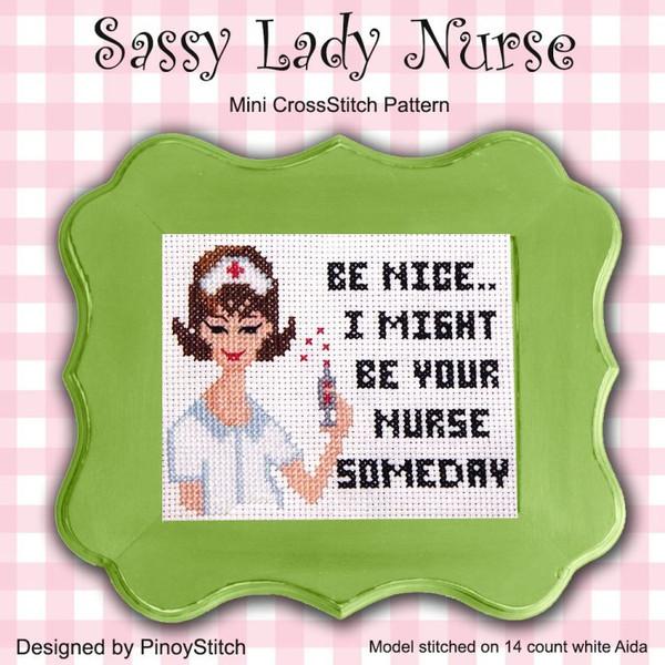 Sassy Lady Nurse