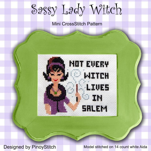 Sassy Lady Witch