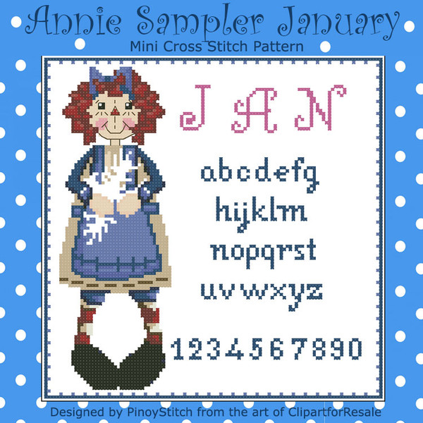 Annie Mini Sampler 001 January