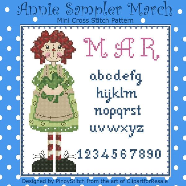 Annie Mini Sampler 003 March