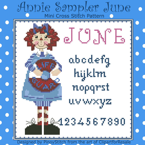 Annie Mini Sampler 006 June