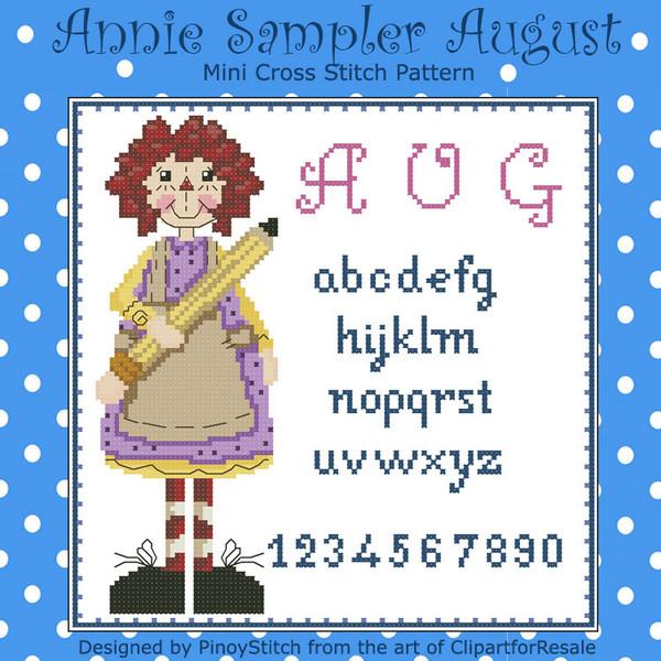 Annie Mini Sampler 008 August