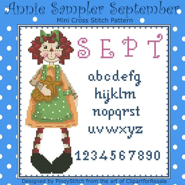 Annie Mini Sampler 009 September