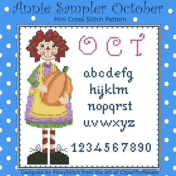 Annie Mini Sampler 010 October