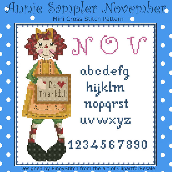 Annie Mini Sampler 011 November