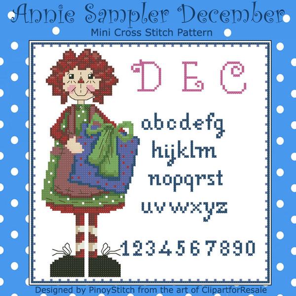 Annie Mini Sampler 012 December