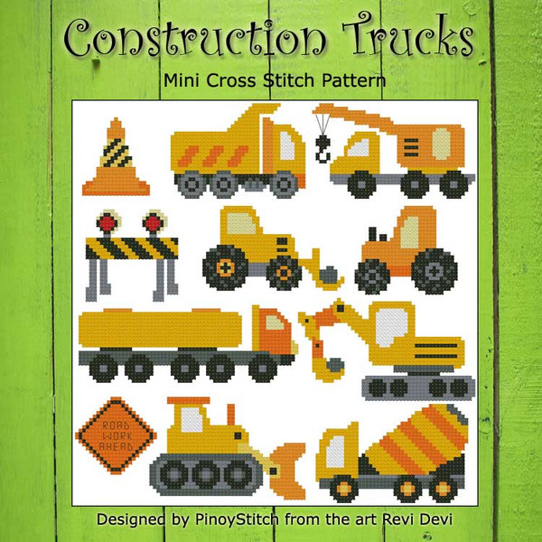 Construction Trucks Sampler