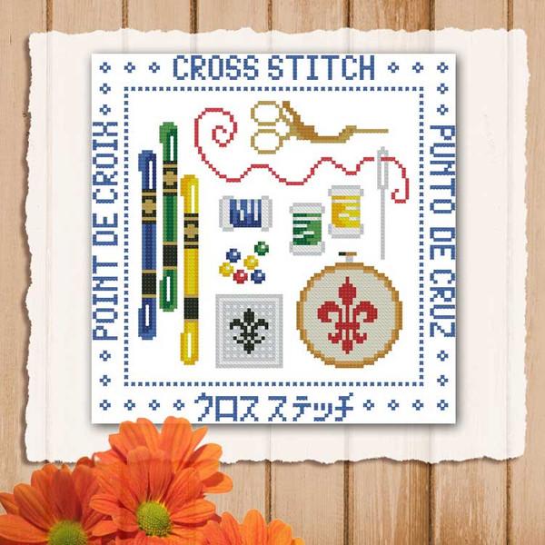 Cross Stitch Mini Sampler