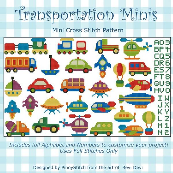 Transportation Mini Collection