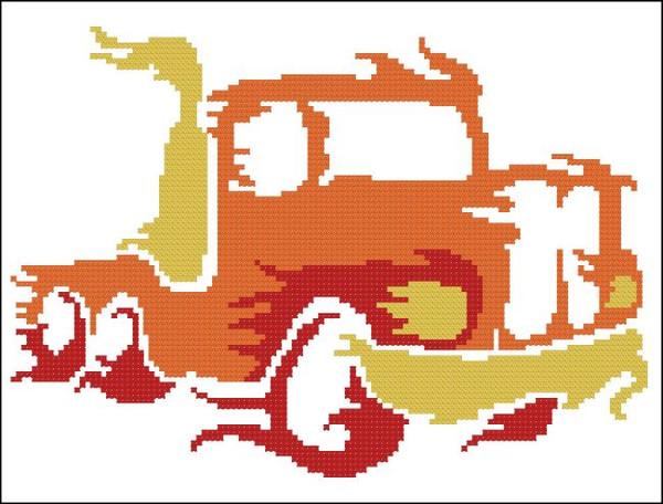 Trucks on Fire 002