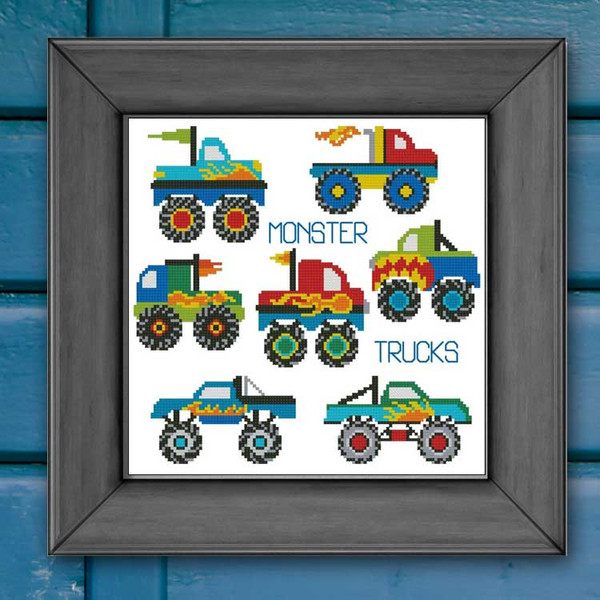 Monster Trucks Mini Collection
