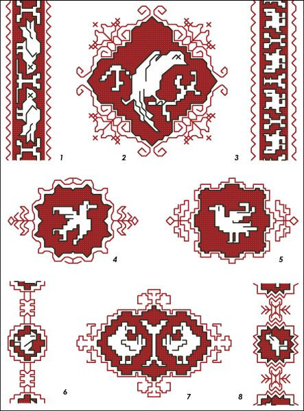 Assisi Embroideries Plate 003