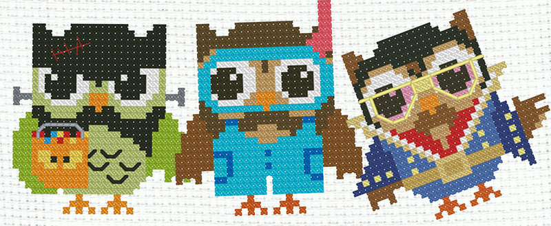 Cool Things About Hooties Owl Mini Cross Stitch Patterns