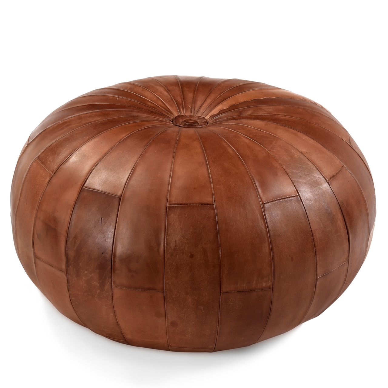Outstanding Eastwood Leather Ottoman Inzonedesignstudio Interior Chair Design Inzonedesignstudiocom