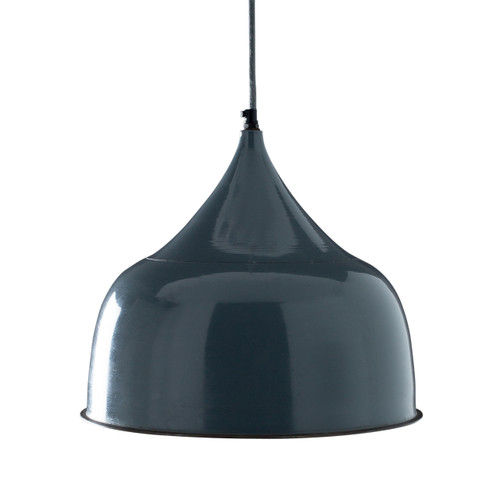 Grover Hanging Light - Slate Blue