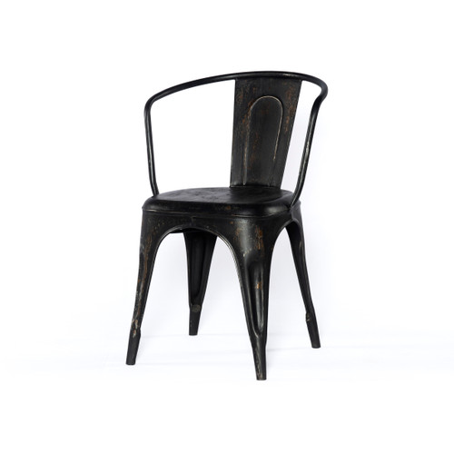 Latham Metal Chair - Black