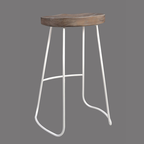 Chetco Counter Stool - Grey and White