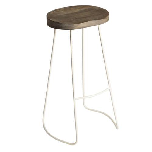 Chetco Bar Stool - Grey and White