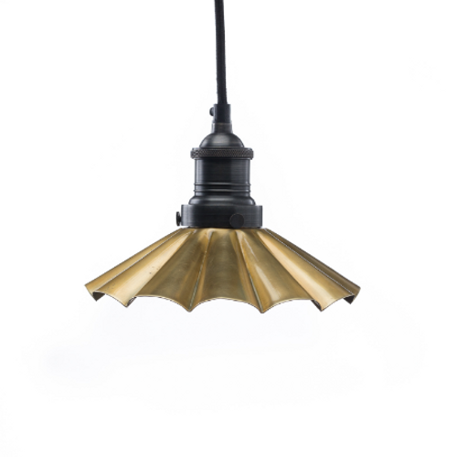 Flower Shade - Brass
