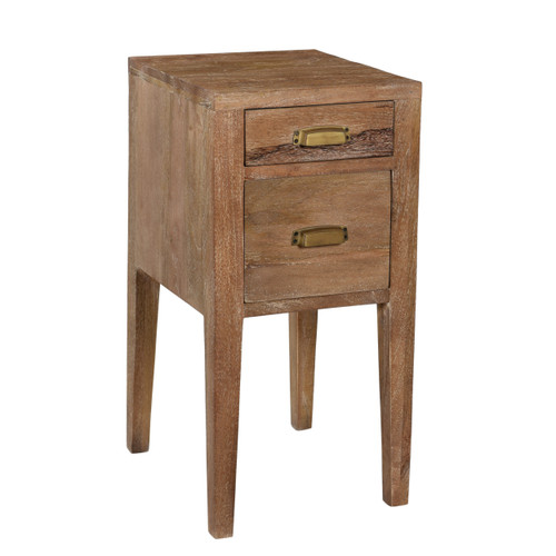 Cowdell 2 Drawer End Table