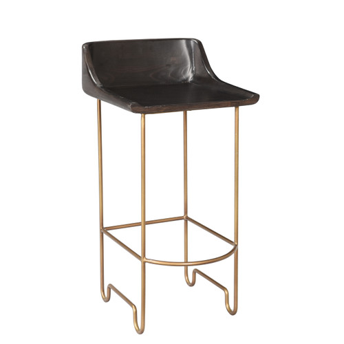 Rosco Counter Stool - Brass