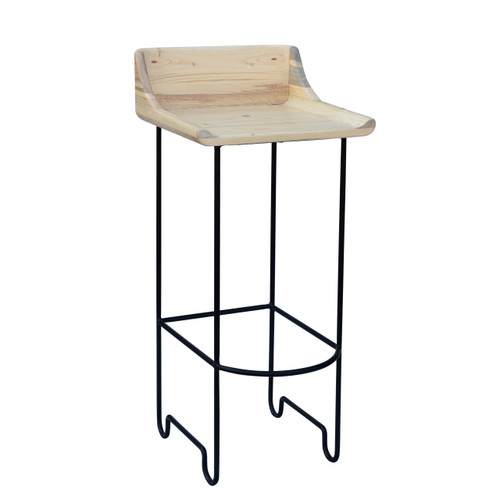 Rosco Bar Stool - Black