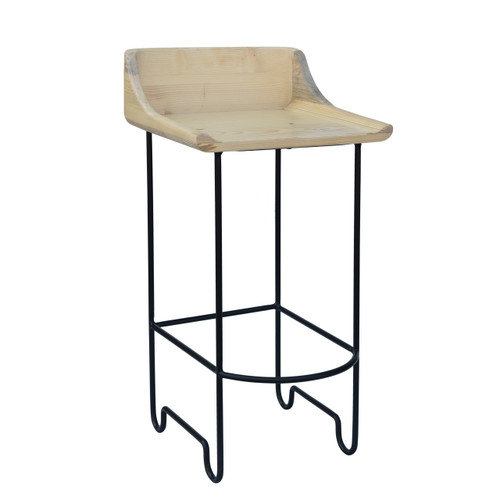 Rosco Counter Stool - Black