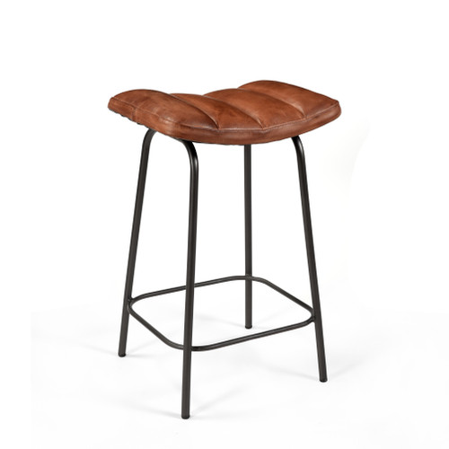 Ira Leather Padded Counter Stool ( Set of 4 )