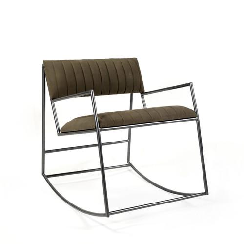 Beau Canvas Rocking Chair
