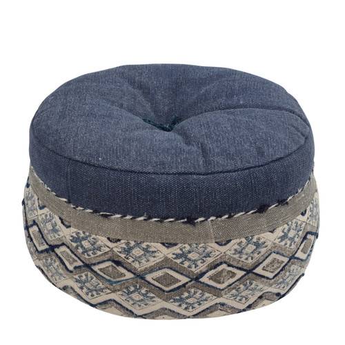 Cotton Pouf - Round