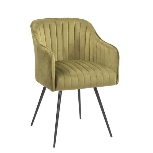 Rose Velvet Chair