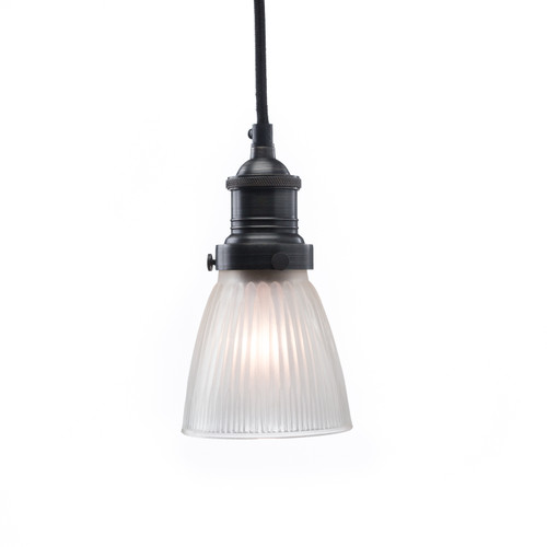 Skirt Shade - Frosted ( Cord, Socket + Canopy Kit - Steel )
