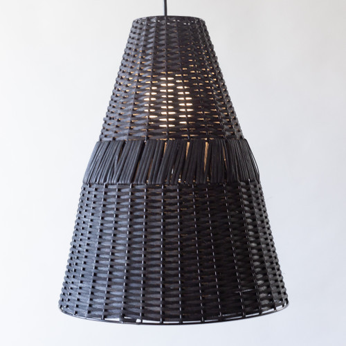 Cone Rattan Light