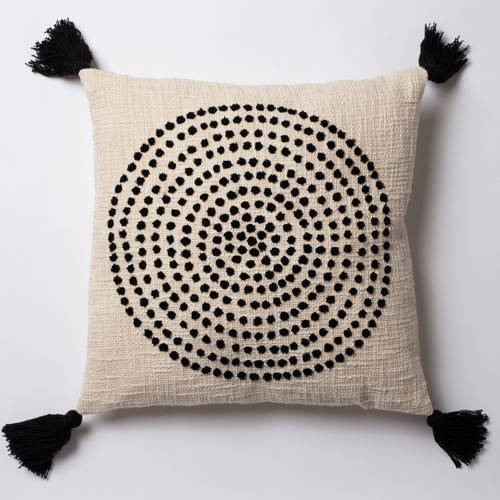 1 dot - White Cushion