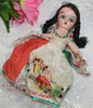 Composition Noche Buena Toy Doll from Mexico Good Night Cultural Souvenir Vintage 1930s Depression Era Mexican Folk Art Designer Gift