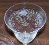 Fostoria Woodland Etched Cocktail or Oyster Glass Vintage 1920s American Designer Gift