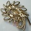 Juliana Crystal Rhinestone Rope Brooch  Vintage D&E Delizza Elster Mid Century 1960s Designer Fashion Jewelry Gift